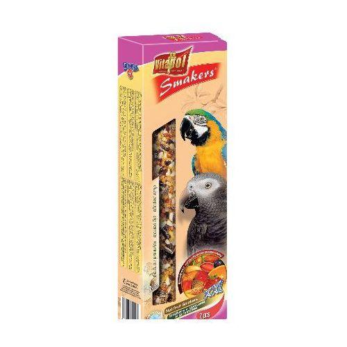 Smakers Kolby orzechowo-owocowe dla dużych papug 2 sztuki, Vitapol