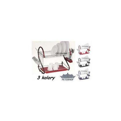 SUSZARKA do naczyn 2x OCIEKACZ CHROM 3 kolor PETERHOF 12864 - produkt z kategorii- suszarki do naczyń
