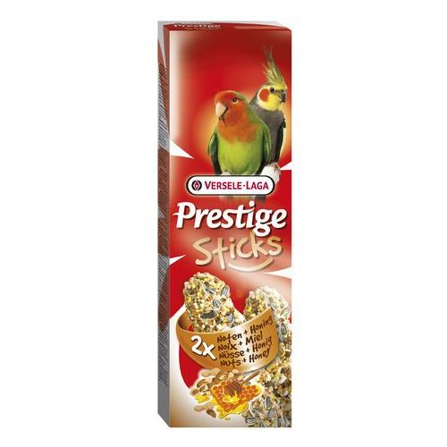 VERSELE LAGA - PRESTIGE STICKS BIG PARAKEETS NUTS & HONEY - 140g