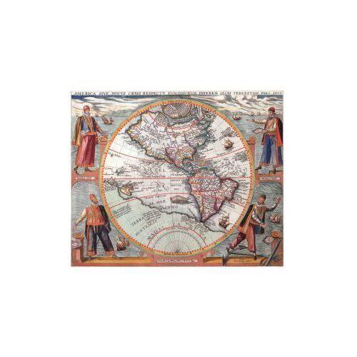 Mapa Ameryki, T. De Bry, 1596 r., produkt marki Golden Maps Publishing