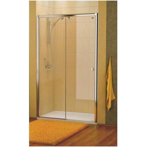 Oferta Drzwi prysznicowe 140 cm SanSwiss Pur Light S PLS21400407 (drzwi prysznicowe)