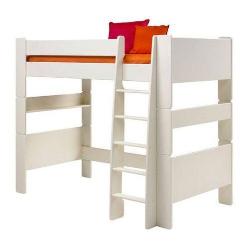 Łóżko piętrowe pojedyncze Steens for kids - biały mdf ze sklepu Meble Pumo