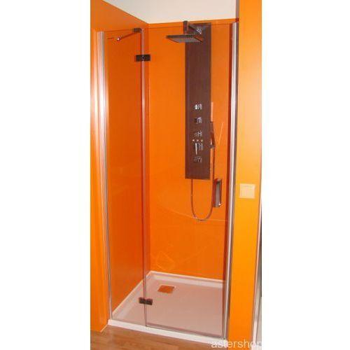 Drzwi prysznicowe z 1 ścianką 80cm prawe BN2715R (drzwi prysznicowe)