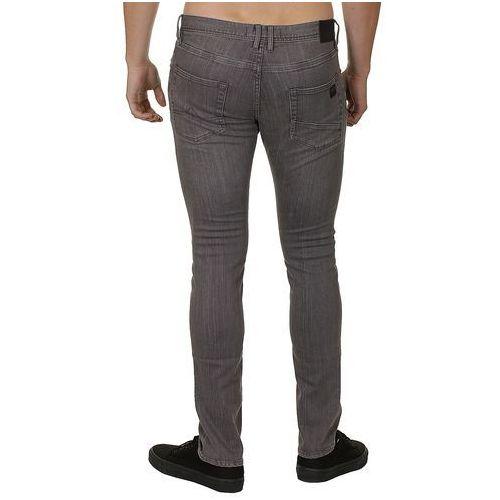 jeansy Quiksilver Distorsion - Clean Gray - produkt z kategorii- spodnie męskie