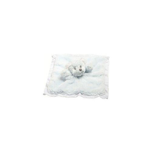 Miś Pacynka niebieski kocyk (pacynka, kukiełka)