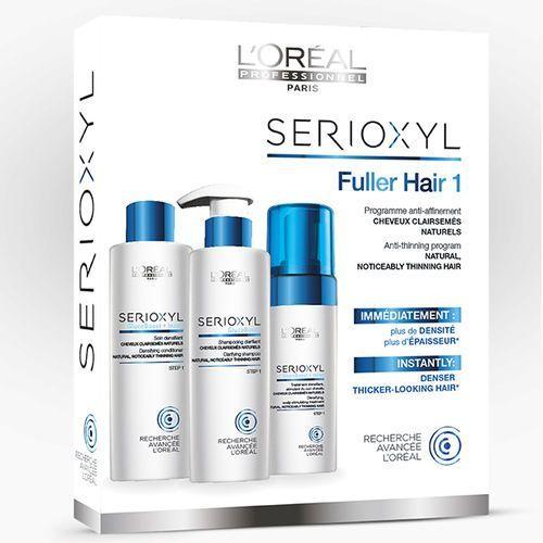 LOREAL SERIOXYL ZESTAW 1 - GĘSTSZE WŁOSY Włosy Naturalne - szczegóły w e-stylshop