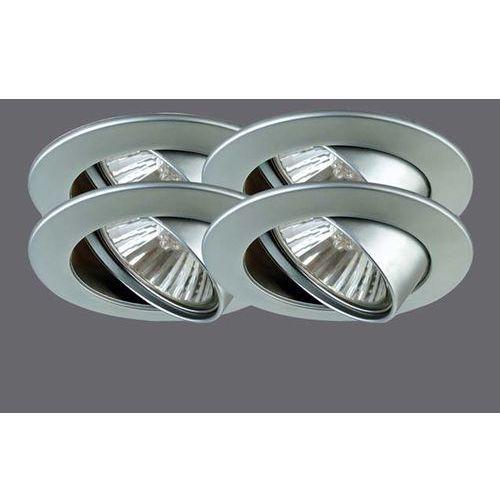 Zink-ALU-Oprawy wbudowywane, wychylne, 4x50W chrom mat z kategorii oświetlenie