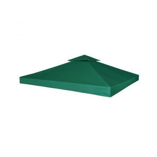 Zadaszenie namiotu ogrodowego 270 g/m² Zielone 3 x 3 m, produkt marki vidaXL