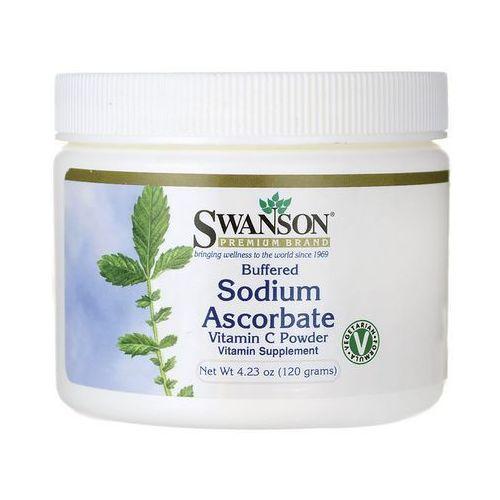 Buforowany askorbinian sodu witamina C w proszku 120gram