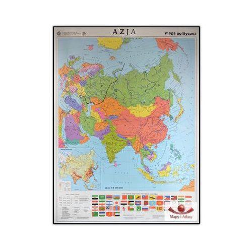 Azja. Mapa polityczna / konturowa. Mapa ścienna Azji, produkt marki Nowa Era