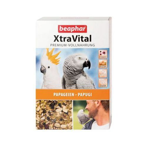 Pokarm dla papug  XtraVital - 2 x 1 kg, beaphar