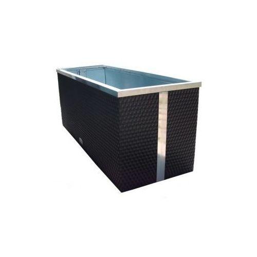 Produkt Donica z technorattanu -  - 40 x 40 x 80 cm, marki RattanArt