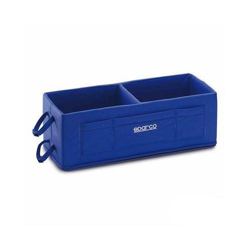 Pudło na kaski Sparco niebieskie - produkt z kategorii- ozdoby i akcesoria do kasków