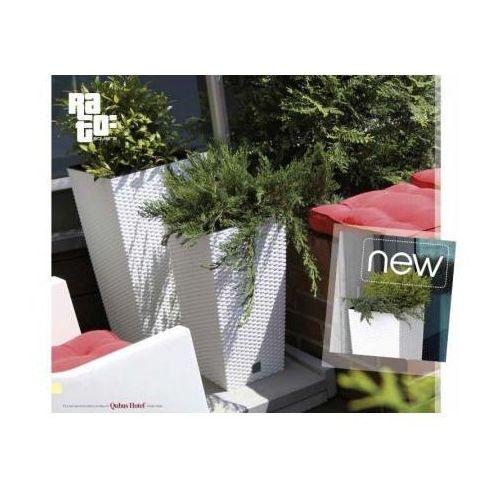 Doniczka RATO Square DRTS265 z wkładem, produkt marki Prosperplast