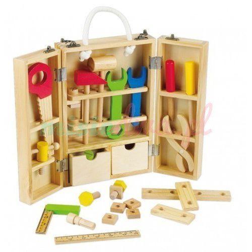 Towar Piękna drewniana skrzynka z narzędziami CL057H z kategorii skrzynki i walizki narzędziowe