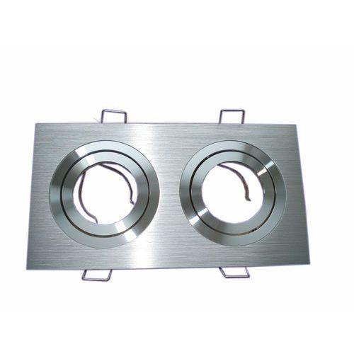 Oprawa punktowa ruchoma HDC-DTL2-50-AL 2X aluminium kwadrat z kategorii oświetlenie