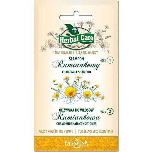 Herbal Care Dwupak Szampon Rumiankowy + Odżywka do włosów Rumiankowa 2x7ml - produkt z kategorii- odżywki do włosów