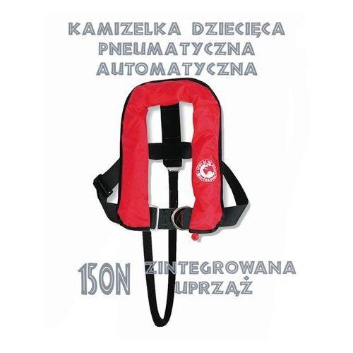 Kamizelka ratunkowa dla dzieci pneumatyczna automatyczna 150N, marki Marinepool do zakupu w Sklep Ratownik24.pl