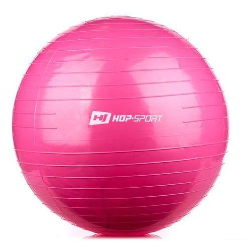 Piłka gimnastyczna 55cm  - różowy, produkt marki Hop-Sport