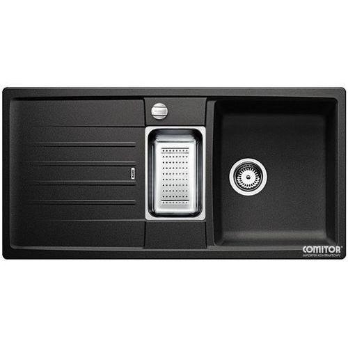 Zlew BLANCO LEXA 6S ANTRACYT (korek automatyczny, odsączarka stalowa) 514676 //zamów wycięcie otworów grat