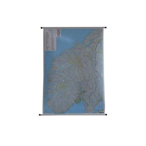 Norwegia mapa ścienna 1:600 000  & Berndt, produkt marki Freytag