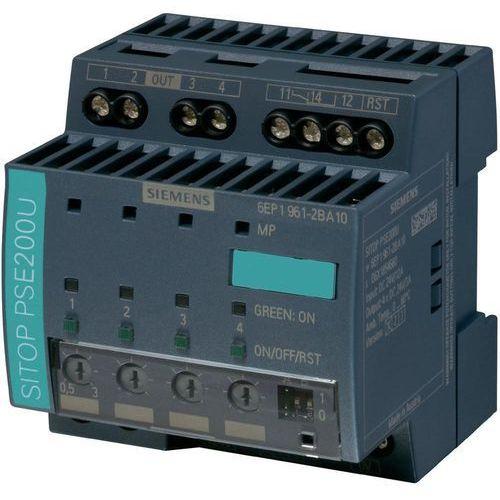 Artykuł Zasilacz na szynę Siemens SITOP PSE 200U, 4 x 10 A, 24 V/DC z kategorii transformatory