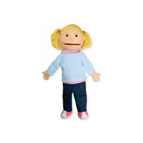 Dziewczynka - pacynka z ruchomą buzią / 60 cm (pacynka, kukiełka)