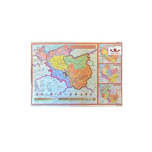 Produkt Rozbicie dzielnicowe Polski. Mapa ścienna, marki Nowa Era