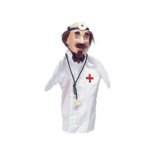 Pacynka na dłoń dla dzieci do teatrzyku- lekarz (pacynka, kukiełka)