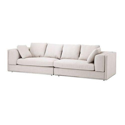 EICHHOLTZ Vermont Sofa Kremowa Tkanina - 08340