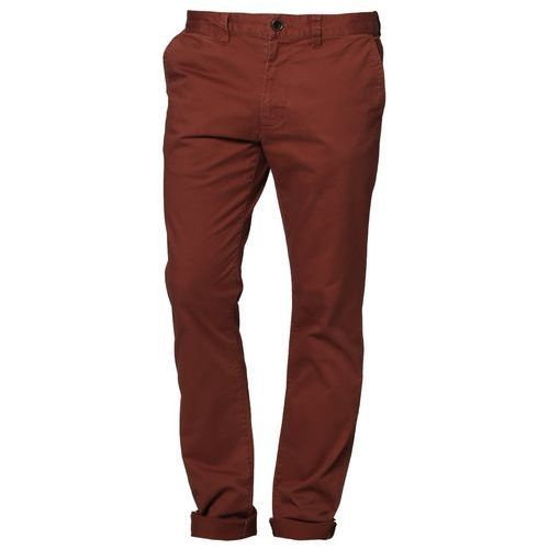 Produkt z kategorii- spodnie męskie - Quiksilver KRANDY Spodnie materiałowe czerwony