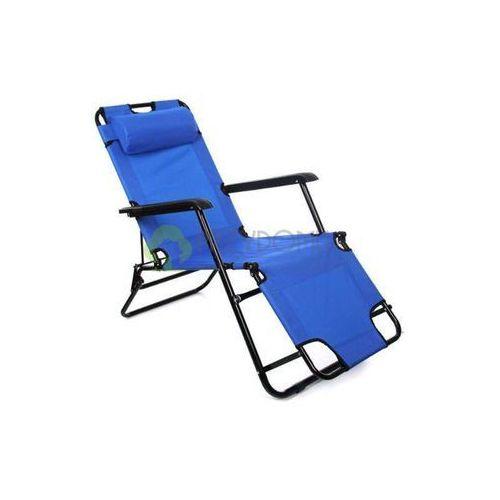 Leżak fotel ogrodowy RALPH Navy niebieski - produkt dostępny w Przydomu.pl
