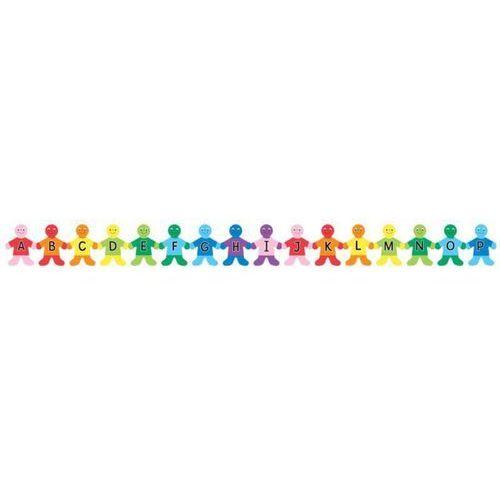 Alfabet w j. ang w kształcie Dzieci - 28 sztuk - oferta [25ee6e223555d4e8]