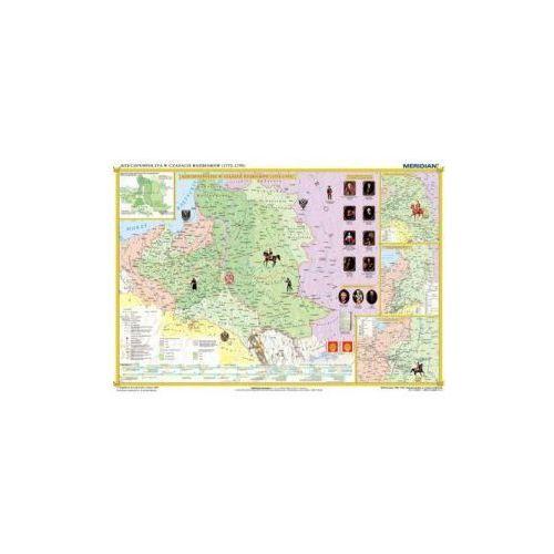 Produkt Rzeczpospolita w okresie rozbiorów / Europa 1789-95. Mapa ścienna., marki Meridian