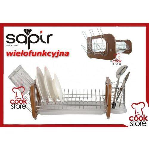 Produkt z kategorii- suszarki do naczyń - Suszarka do naczyń chromowana SAPIR