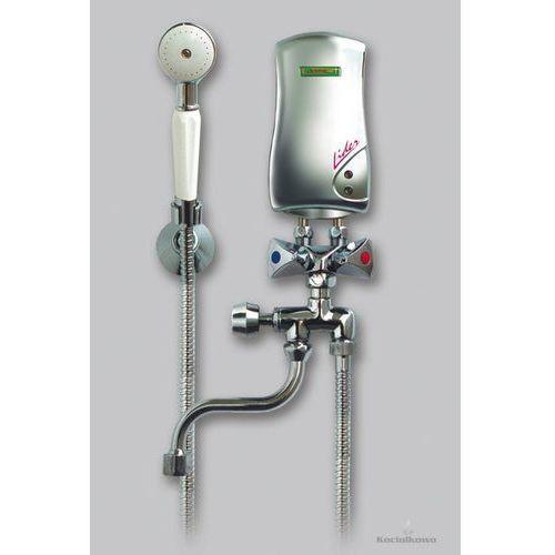 Produkt  LIDER, przepływowy bezciśnieniowy ogrzewacz wody, umywalkowo-prysznicowy, 4,5 kW, biały [251-01-451], marki Elektromet