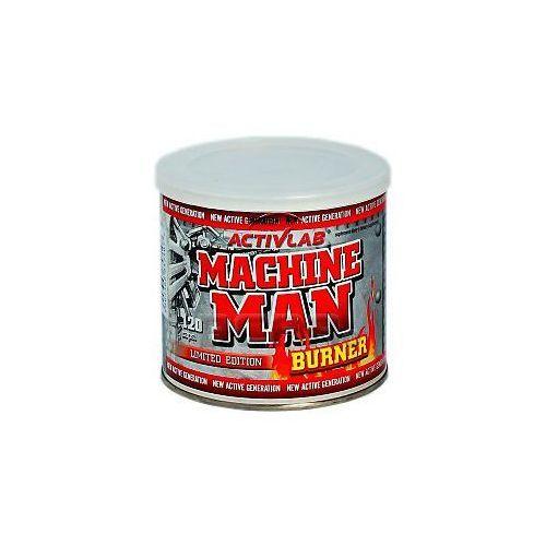 Machine Man Burner 120kaps. Limited Edition