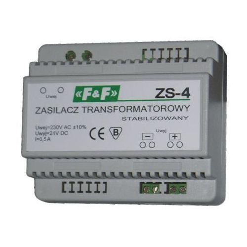 Artykuł ZASILACZ TRANSFORMATOROWY ZS-4 24V DC/230V AC 12W 0.5A STABILIZOWANY ZS-4 F&F Wysyłka 24h Zamów ter