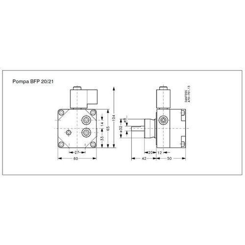 Oferta Danfos-Pompa olejowa BFP 21R.3 / wyprzedaż z kat.: ogrzewanie