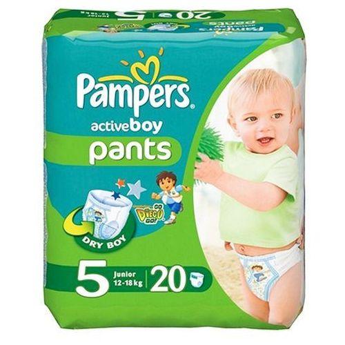 PAMPERS 20szt Active Boy Junior 5 (12-18kg) pieluchomajtki, kup u jednego z partnerów