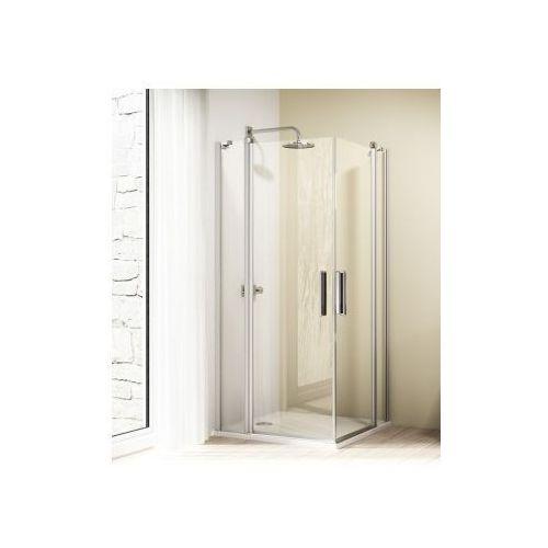 HUPPE DESIGN ELEGANCE 4-kąt drzwi skrzydłowe ze stałym segmentem 8E0701 (drzwi prysznicowe)