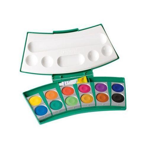 Oferta Farby wodne ProColor Pelikan - 12 kolorów + tubka białej farby [05c5407347455418]