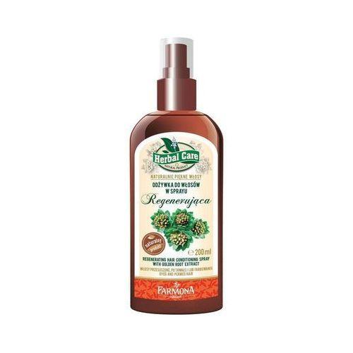 Herbal Care Regenerująca odżywka do włosów w sprayu Różeniec Górski 200ml - produkt z kategorii- odżywki do włosów