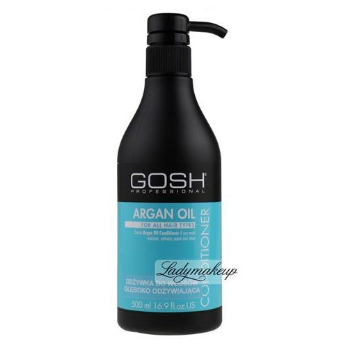 GOSH - Argan Oil Conditioner - Odżywka do włosów z olejem arganowym - produkt z kategorii- odżywki do włosów
