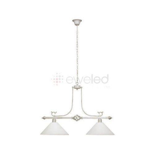 Artykuł CORA lampa wisząca 2 x 60W E27 BIAŁY z kategorii lampy wiszące