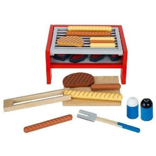 Zestaw do grillowania do zabawy dla dzieci oferta ze sklepu www.epinokio.pl