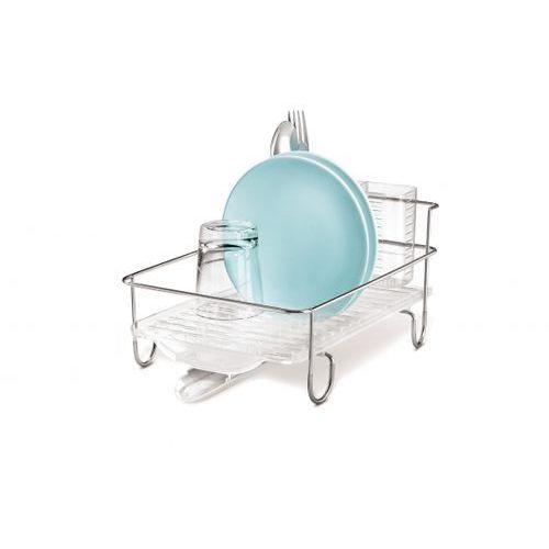 Plastikowy ociekacz do naczyń SIMPLEHUMAN WIRE FRAME MINI 38,5 x 24,5 cm - rabat 10 zł na pierwsze zakupy! - produkt z kategorii- suszarki do naczyń