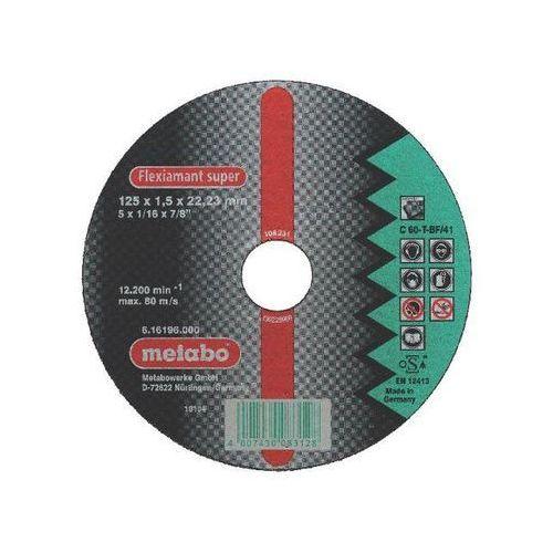 Tarcza tnąca Flexiamant super C 30-S 125x1,5x22,2mm do ceramiki Metabo ze sklepu NEXTERIO