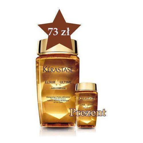 Produkt z kategorii- odżywki do włosów - Kerastase Elixir Ultime Kąpiel 250 ml + travel size w PREZENCIE