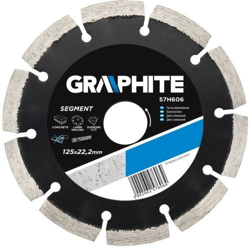 Tarcza do cięcia GRAPHITE 57H610 230 x 22.2 mm diamentowa ze sklepu Media Expert